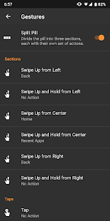 Navigation Gestures Screenshot