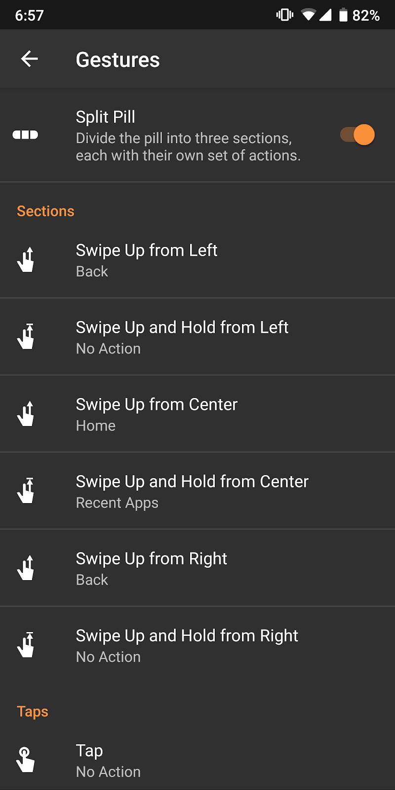 Navigation Gestures - Swipe Gesture Controls! Screenshot 4