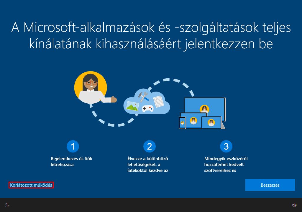 windows_telepites_bejelentkezes