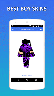 Best 3D Boy Skins for MC PE - screenshot