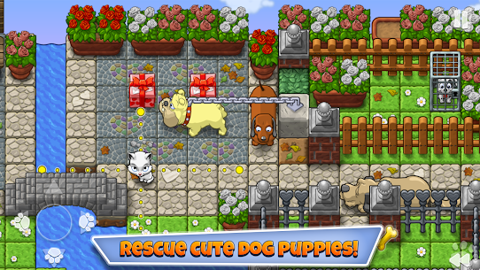 Save the Puppies MOD Apk 1.5.2 (Unlimited Moves) 6