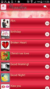 Sweet Love Messages Romantic screenshot 8