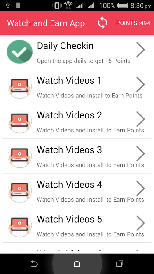 Watch and Earn