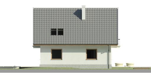 Dom przy Cyprysowej 44 - Elewacja lewa