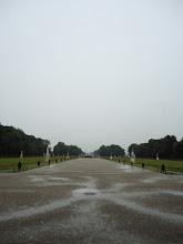 Photo: Munich, Germany: Nymphenburg Palace in rain