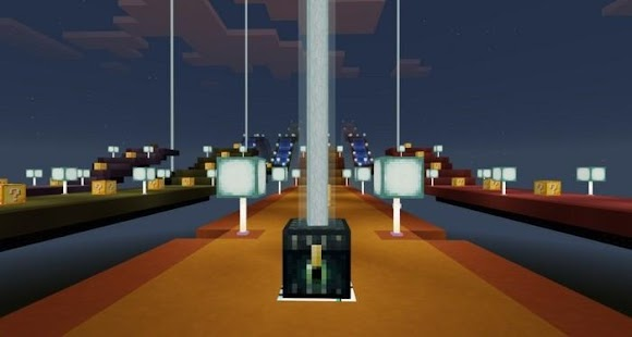 NEW Lucky Block Race for MCPE 1.0.0 - náhled