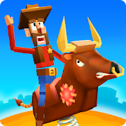 Blocky Bronco: Wild West Rodeo