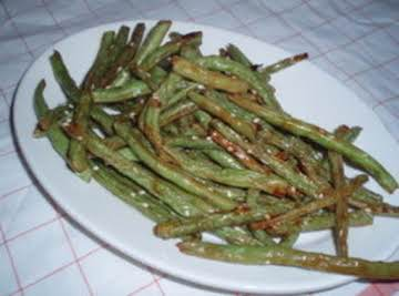 Hoisin Roasted Green Beans