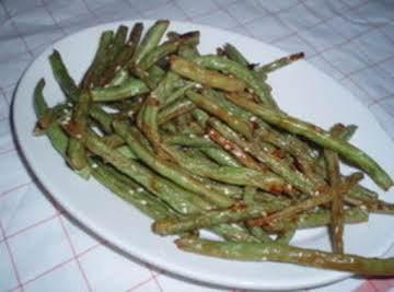 Hoisin Roasted Green Beans