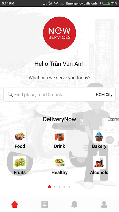 Now - Local Services On-Demand- screenshot