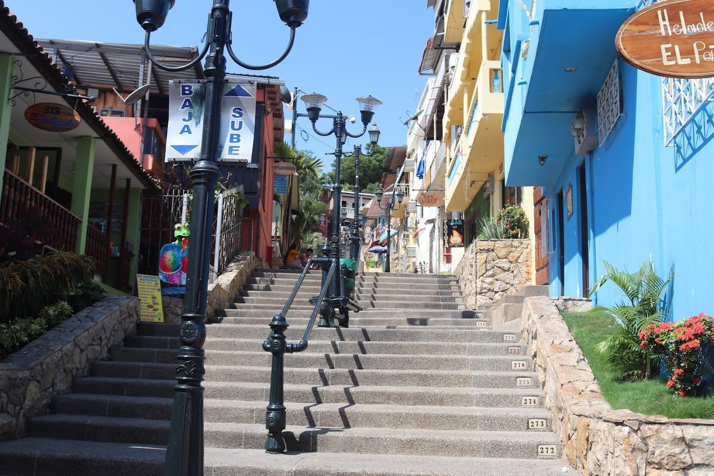 Diego Noboa Staircase in Guayaquil