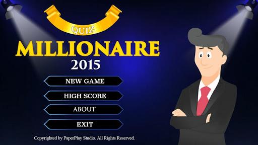 Millionaire Quiz Game 2015