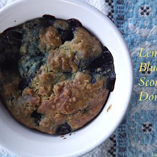 Lemon Blueberry Scone Domes