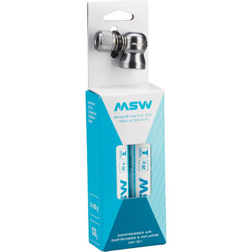 MSW INF-100 Windstream Kit w/ two 20g CO2 Cartridges