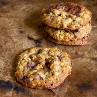 Chocolate-Oatmeal Cookies with Blackstrap Molasses and Bourbon
