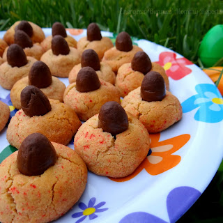 Easy Choco-Peanut Butter Easter Cookies