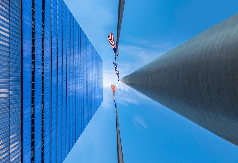 Flags in the wind di tonino_de_rubeis