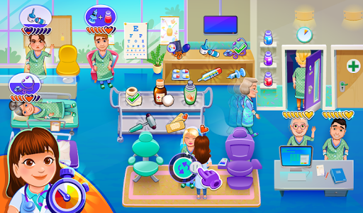 My Hospital: Doctor Game android2mod screenshots 7