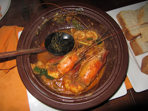 Photo: Shrimp curry at the Ministry of Crab in Colombo.
