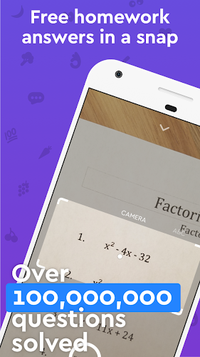 Socratic - Math Answers & Homework Help Android App Screenshot