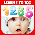 Numbers for kids 1 to 100. Learn Math & Count! icon