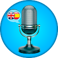 English - Spanish. Translator icon