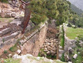 Photo: Arykanda Cistern or Nympheion? .......... Waterreservoir of fontein?