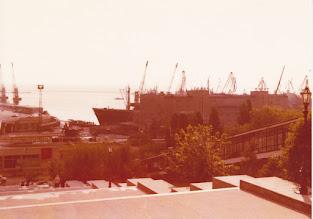 Photo: Odessan satama 1976