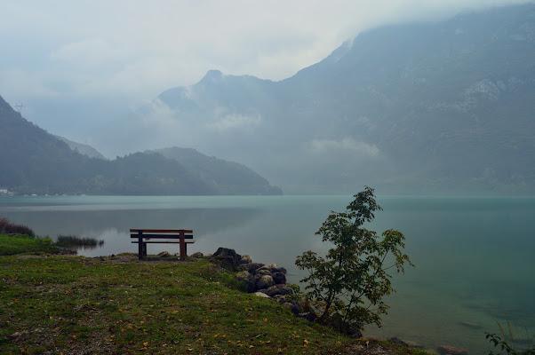Le nuvole d'autunno sul lago di Cavazzo di mtan73