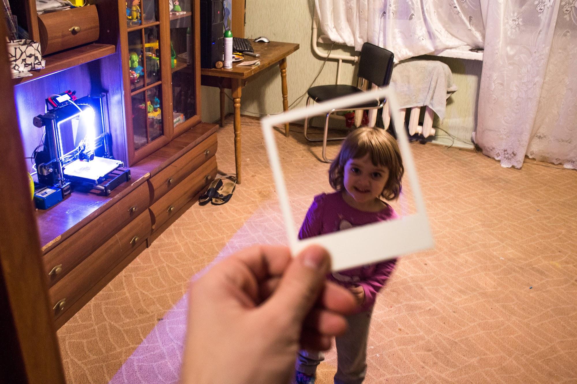 3D принтер і діти