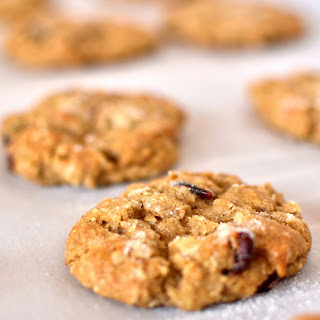 Oatmeal Craisin Cookies with No Eggs.
