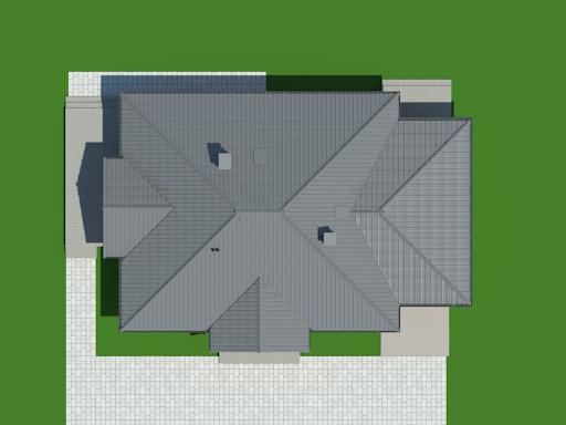 Dębina z garażem - Sytuacja