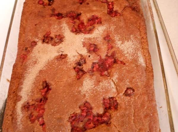 Cranberry Gingerbread Recipe