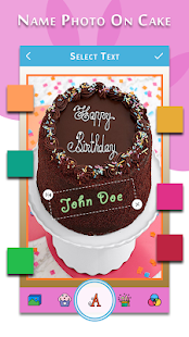 Download Happy Birthday-Song with name, photo on Bday cake