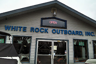 Photo: White Rock Outboard, Inc. in Gorham, ME proudly displaying their BBB Accreditation
