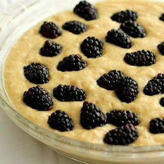 No Egg Blackberry Cake