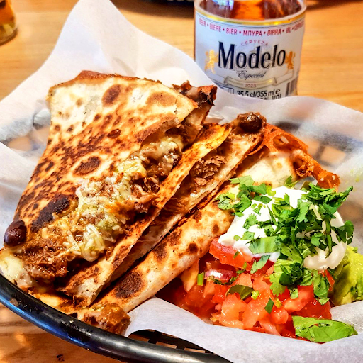 Pork & Chorizo Quesadillas