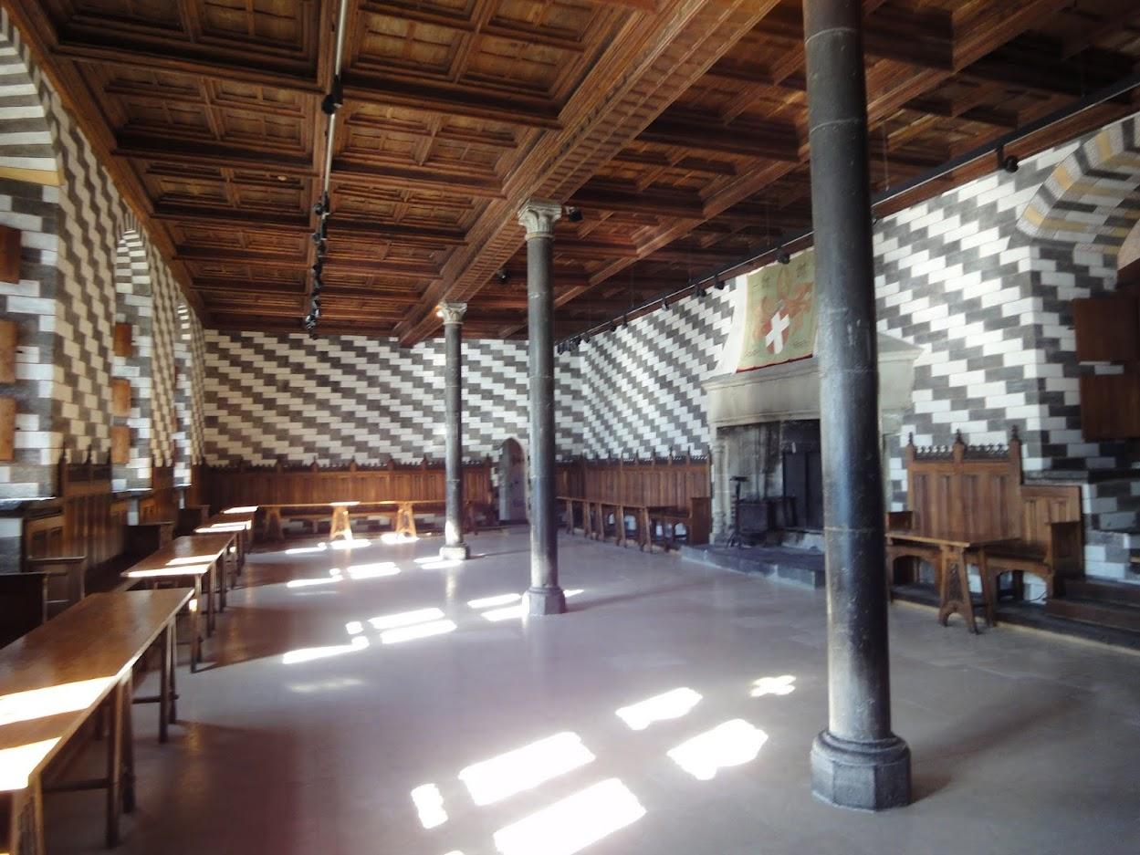 Aula magna au Château de Chillon
