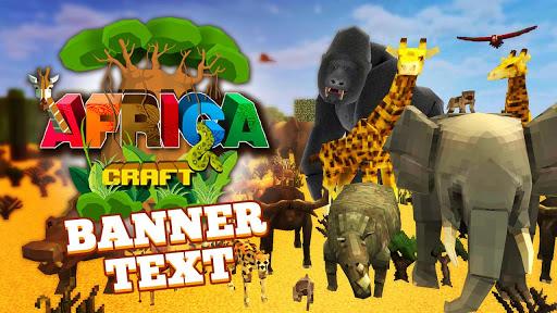 Africa Craft: City Building & Savanna Safari Games for PC