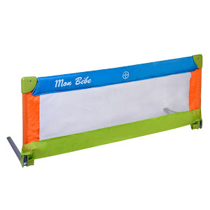 Bariera protectie pat pentru bebelusi, 120 x 43.5 cm