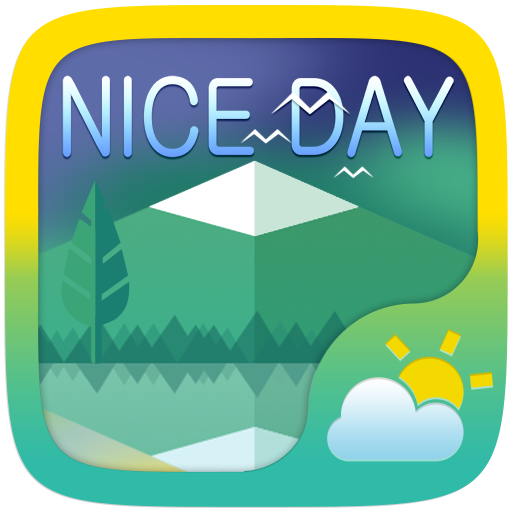 Nice Day Weather Widget Theme