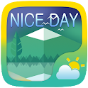 Nice Day Weather Widget Theme icon