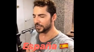 David Bisbal, en una captura del vídeo.