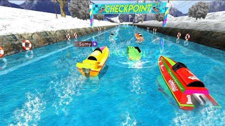 Powerboat Race 3D APK screenshot thumbnail 3