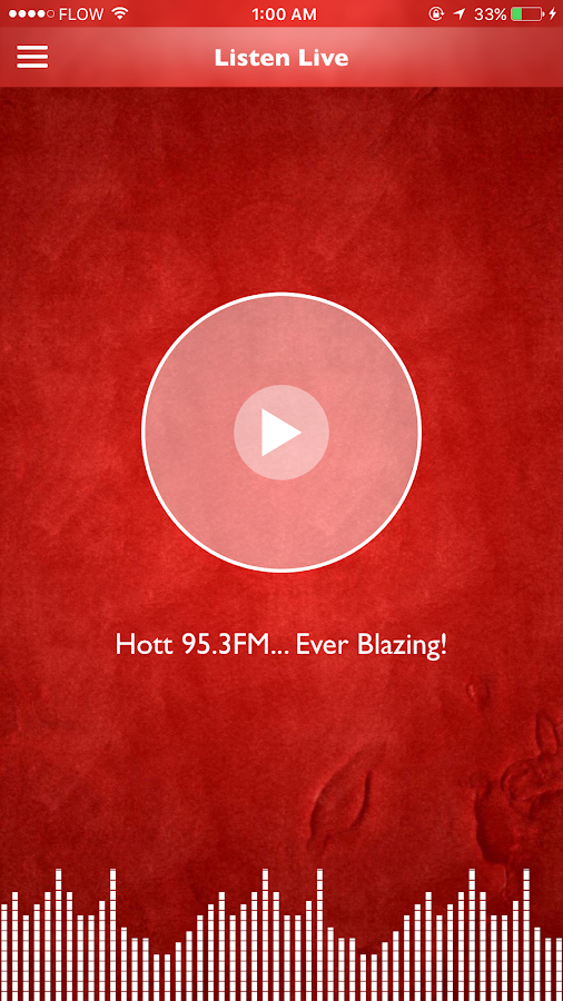 Hott 95.3FM- screenshot