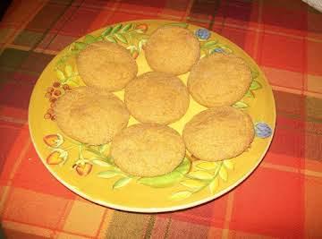 Carmel Stuffed Pumpkin Cookies