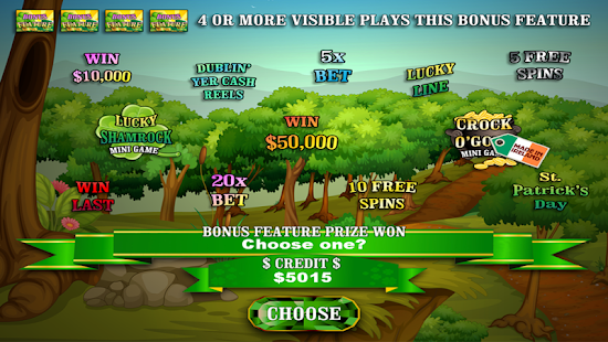 Crock O'Gold Rainbow Riches- screenshot thumbnail