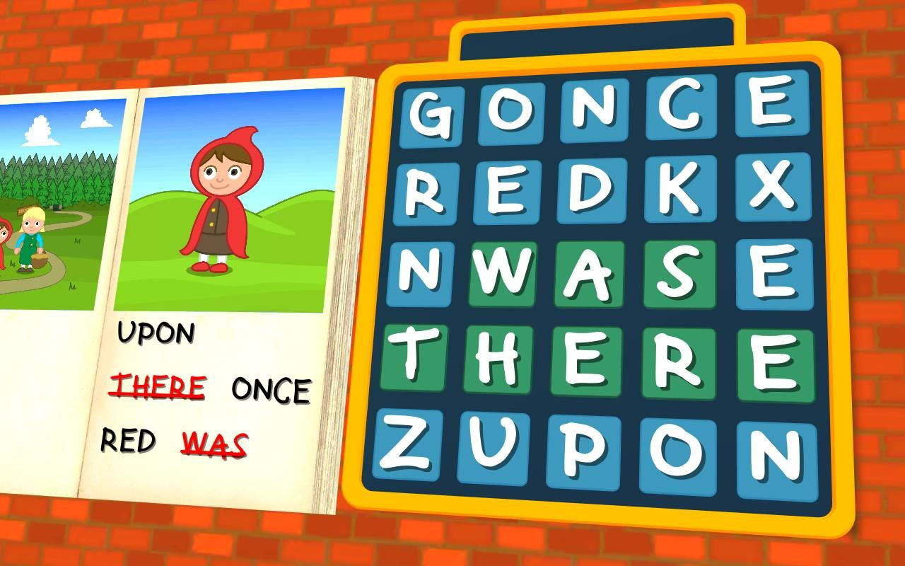 Red Riding Hood - Wordsearch- screenshot
