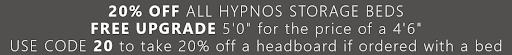 Hypnos Divan Beds promotion