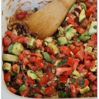 Recipe for Slow Cooker Avocado Quinoa Casserole